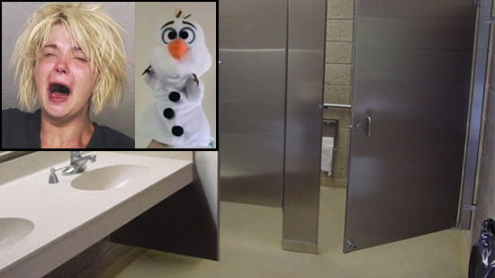 Woman Caught Masturbating In Target Bathroom With 'Olaf